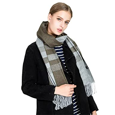 e72ed2c38bf28 Scarves For Women by SAN VITALE Scarf Winter Warm 100% Faux Cashmere Shawl  Top Quality