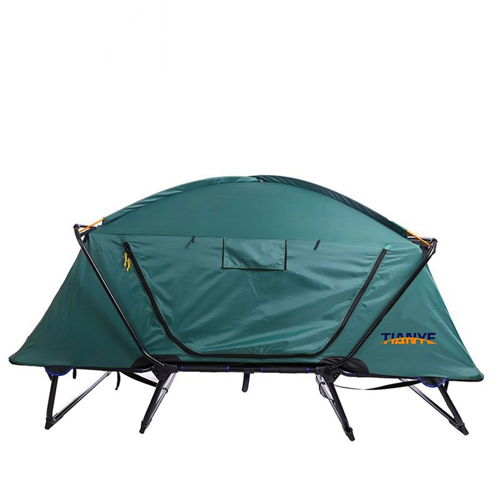 TLMY Frei Bauen Mehrzweck Einzigen Zelt Bett Wasserdicht Wasserdicht Bett Kalt Outdoor Freizeit Faltung Angeln Auto Top Aus Dem Boden Zelt Zelte c5a3d2