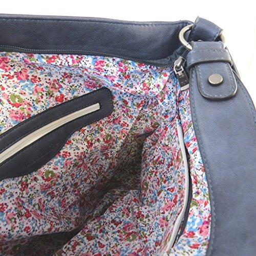 Bag designer Scarlettmarina di paillettes - 43x32x13 cm.