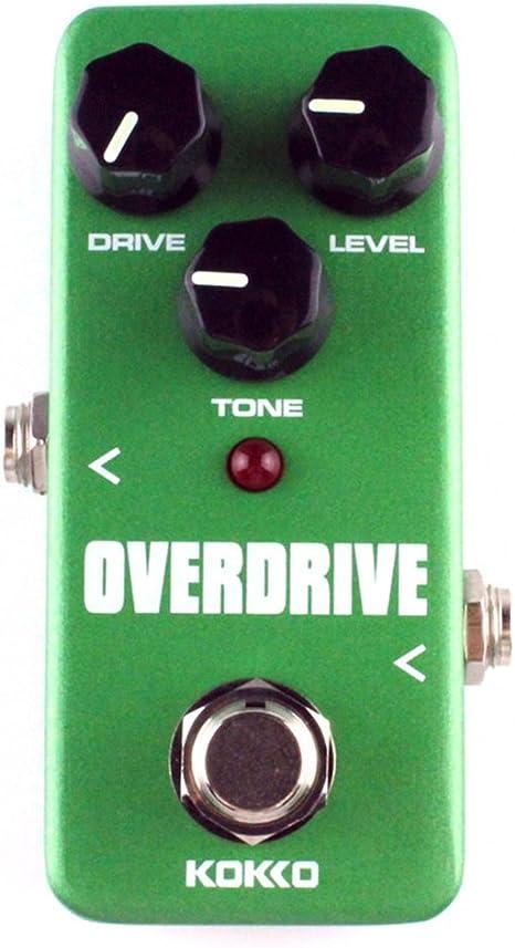 KOKKO FOD3 Mini Overdrive Guitarra eléctrica efecto Pedal Tube ...