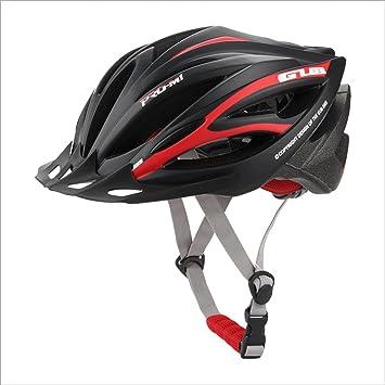 ZXHW Casco Bicicleta Equipo de protección Bicicleta Ciclismo Forma General Sombrero Hombre y Mujer Equipo Ligero Deporte Casco de Seguridad (Color : E): ...