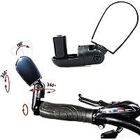 Adjustable MTB Bike Bicycle Cycling Rearview Mirror Glass Mini Small Iron Handlebar (02 Pcs.)