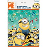 Despicable Me Loot Bags, 8ct