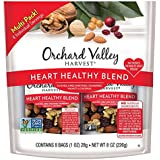 ORCHARD VALLEY HARVEST Heart Healthy Blend, Non-GMO, No Artificial Ingredients, 1 oz (Pack of 8)