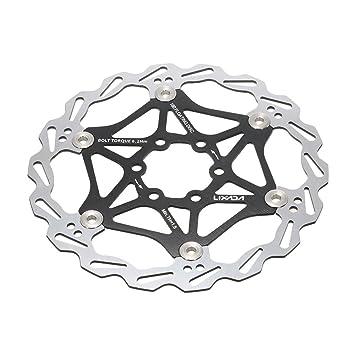 Amazon.com: Lixada Bicicleta Freno de disco rotor MTB ...