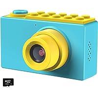 Kriogor Cámara de Fotos para Niños, Juguete Digital Cámara 4 Zoom Digital 2 Pulgadas 8MP 1080P Niño Niña Cumpleaños…
