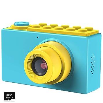 Kriogor Cámara de Fotos para Niños, Juguete Digital Cámara 4 Zoom Digital 2 Pulgadas 8MP 1080P Niño Niña Cumpleaños (Tarjeta TF Incluida): Amazon.es: ...