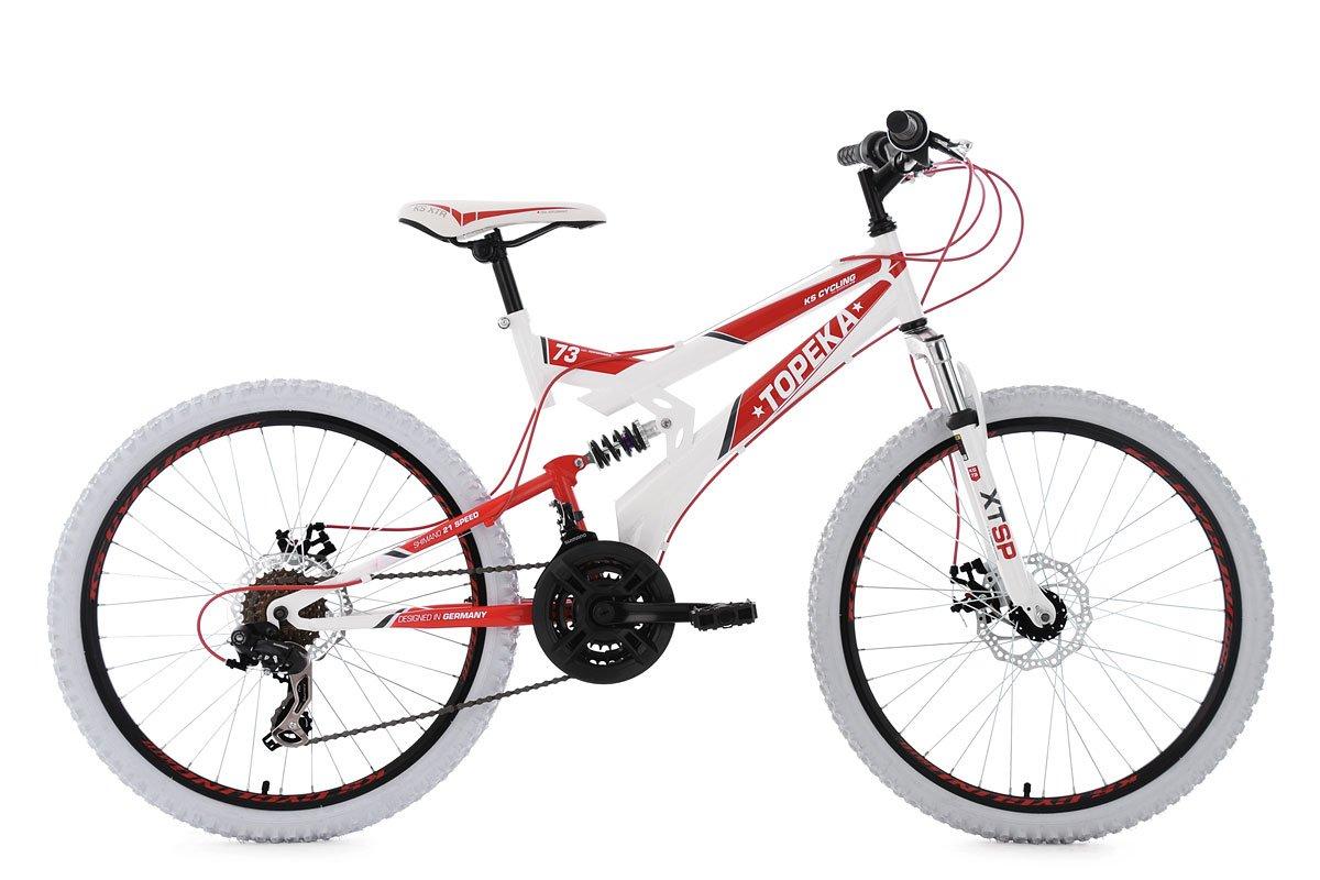 KS Cycling Niños Mountain Bike MTB Fully Topeka Bicicleta, Color ...