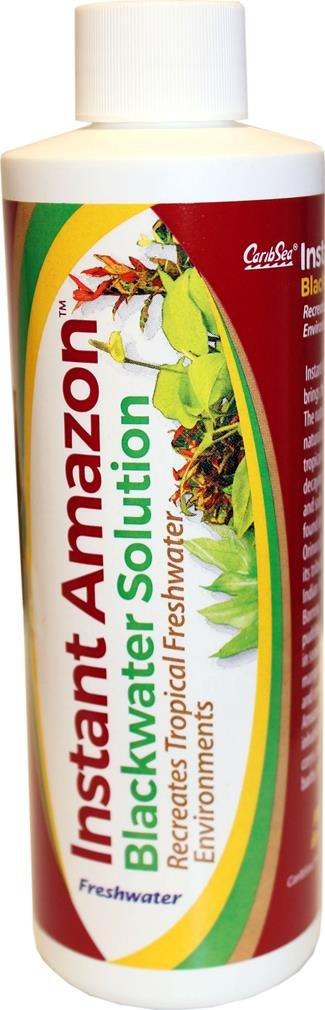 CaribSea Aquatics Instant Amazon Blackwater Solution, 8 oz Inc 08541
