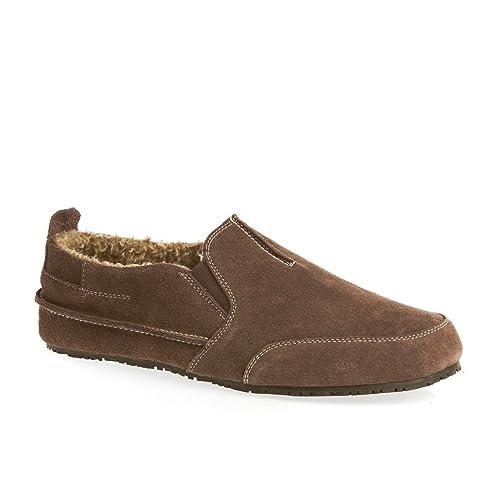 Clarks - Zapatillas de estar por casa para hombre Marrón marrón JpNOGr