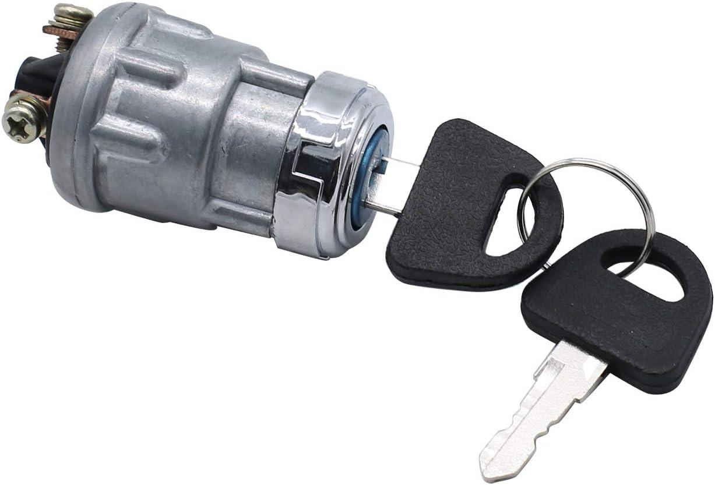 trattore auto depoca. barca scooter TAKPART 1 pezzo universale interruttore di accensione 3 contatti e 2 chiavi di sicurezza nel set per camion quad