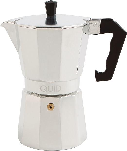 Quid CAFETERA 6 Tazas Alum PP Cesena QD, Aluminio, Gris: Amazon.es ...