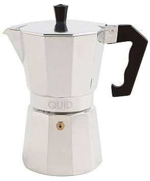 Quid Cesena - Cafetera de Aluminio, 12 Tazas: Amazon.es: Hogar