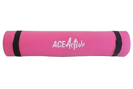 Esterilla de yoga de 6 mm y formato antideslizante (con ...