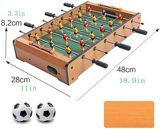 WXH Divertidos Juegos y Accesorios portátiles de futbolín ...