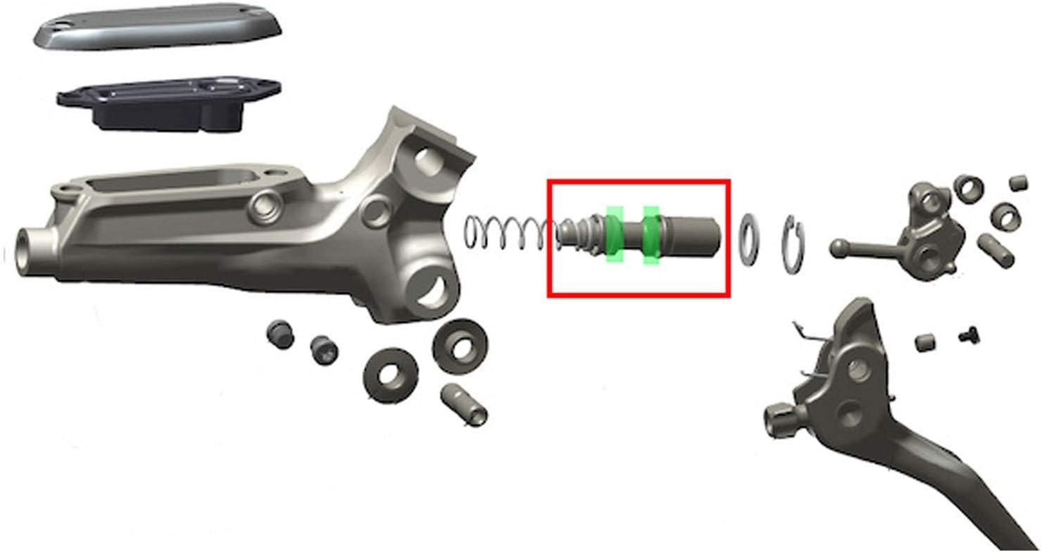 Details about  /Brake Lever Internals Rebuild Part Rubber Seals Rings For Sram GUIDE Level db5