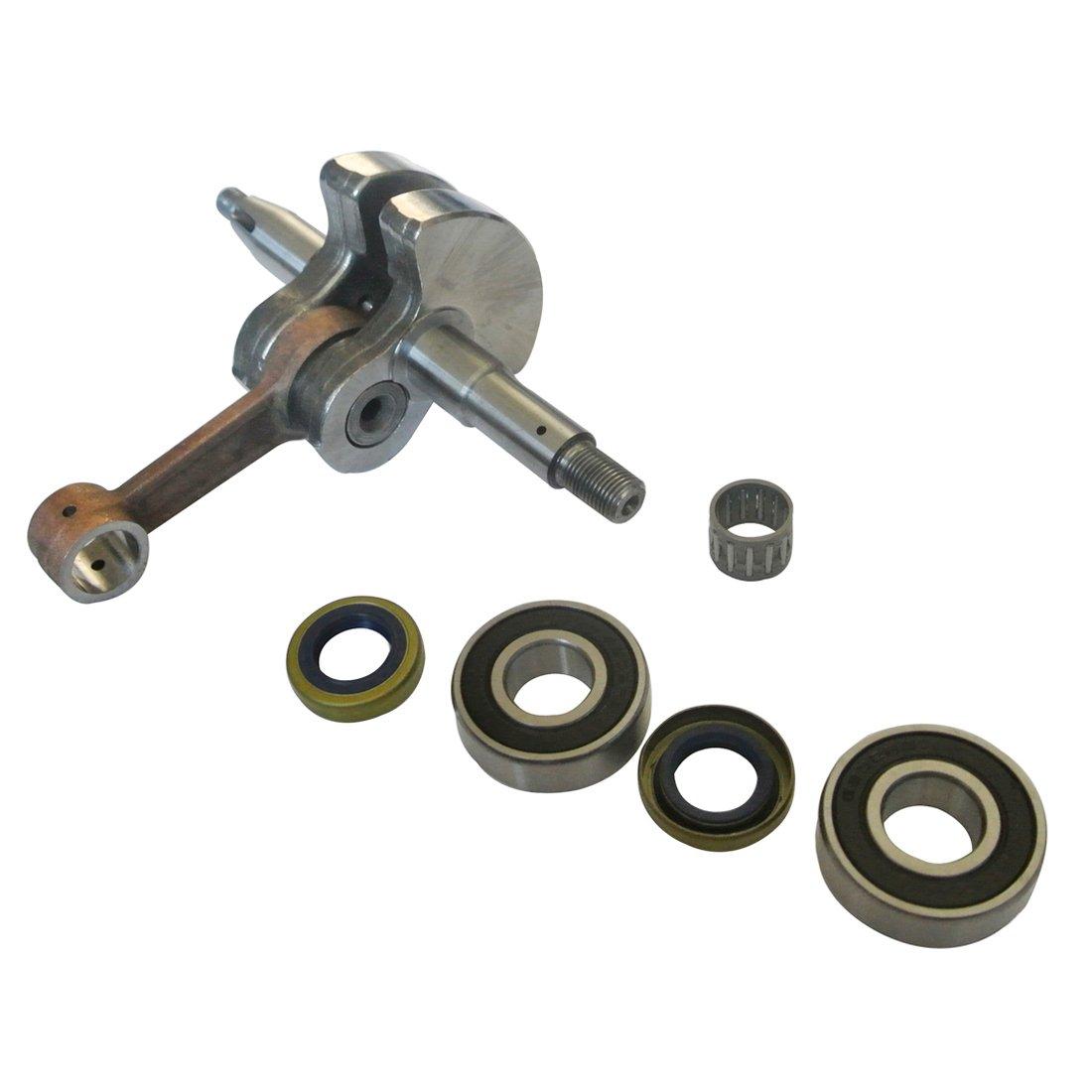 JRL Crankshaft & Bearings Oil Seals Piston Pin Bearing for Husqvarna 266 268 66 272