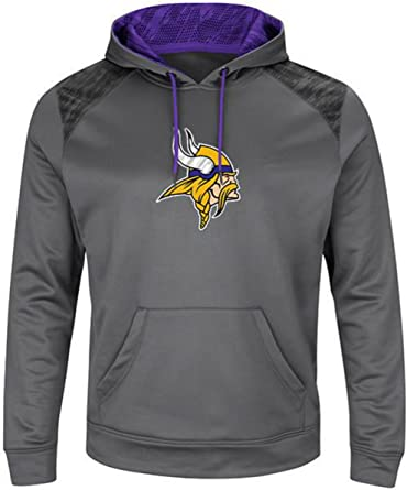 gray minnesota vikings sweatshirt