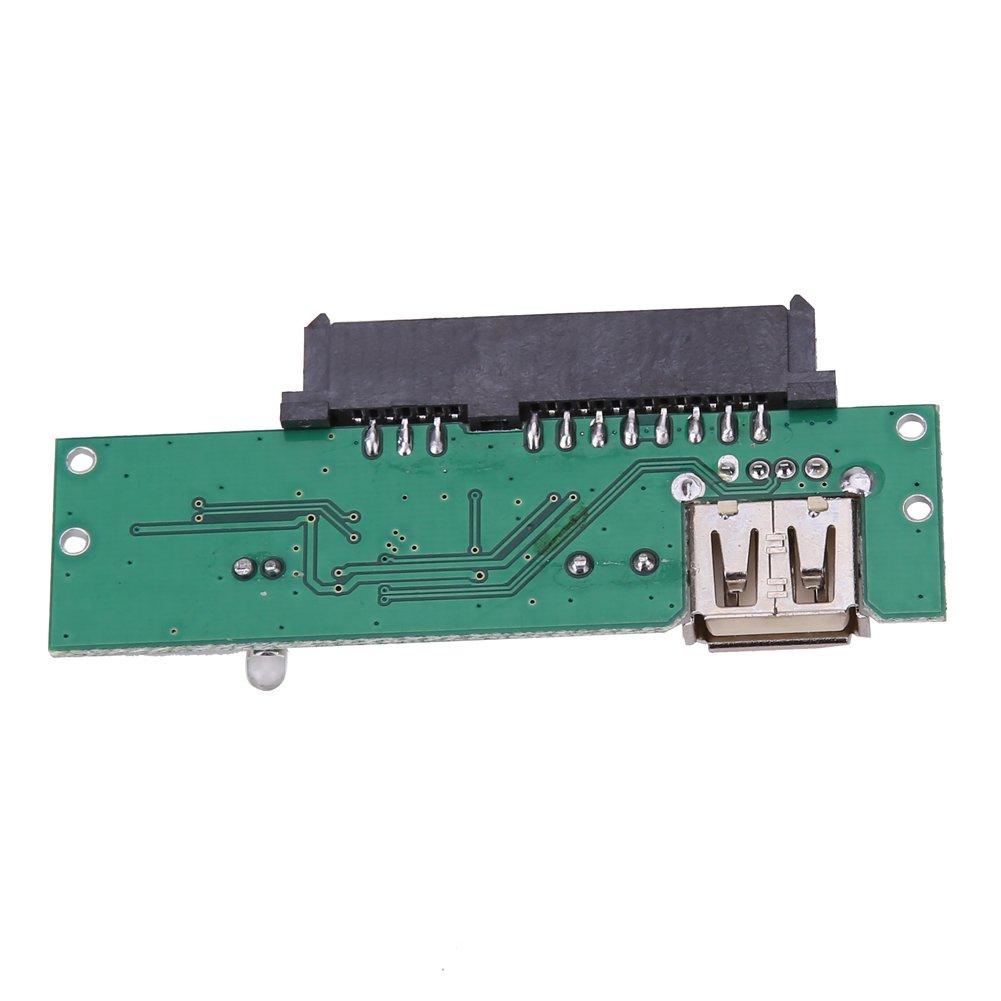 Domybest New 6,3/cm USB 2.0/vers SATA 7/ 15/broches disque dur adaptateur convertisseur