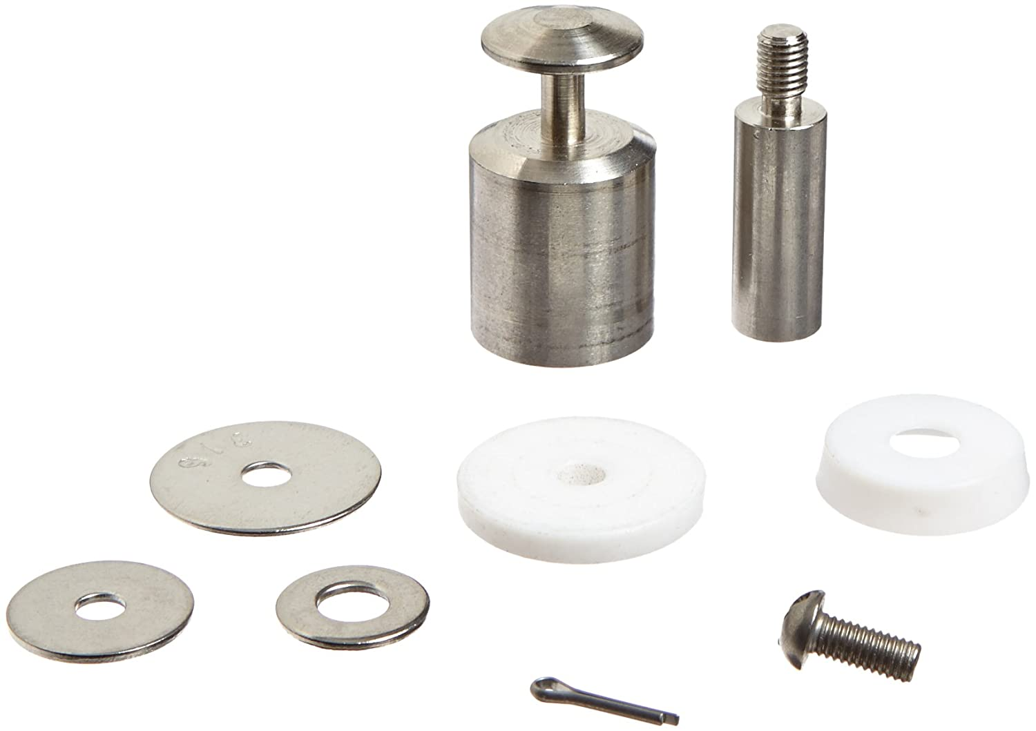 Robert Manufacturing KS230 Bob 5 Piece Plunger Kit for R1371 1 Stainless Steel Float Valves Control Devices