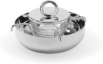 Christofle Vertigo Silver Plated Silver Plated Caviar Set