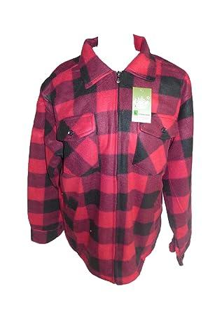 Warm Holzfällerjacke Gefüttert Rot Jacke Unbekannt Herren Ybv6gf7y