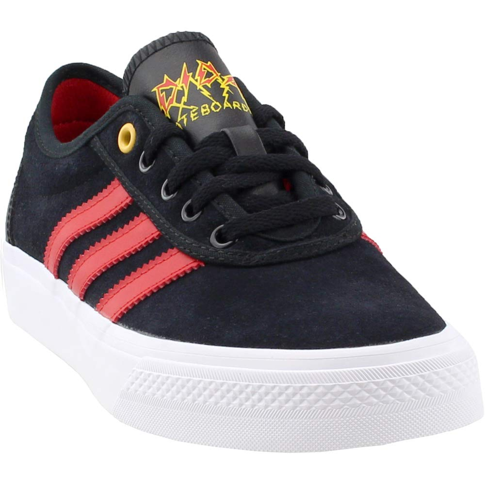 adidas Originals Men's Adi-Ease, Core Black/Scarlet/White, 8 M US