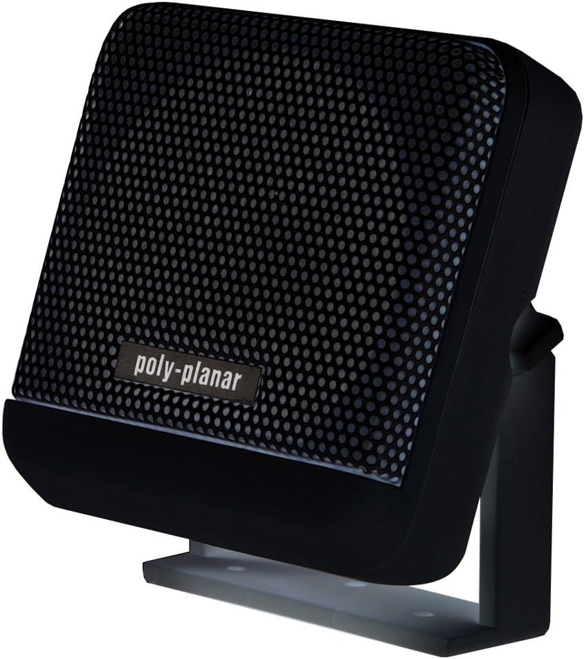 "Poly-Planar 4"" Remote VHF Speaker, Black"