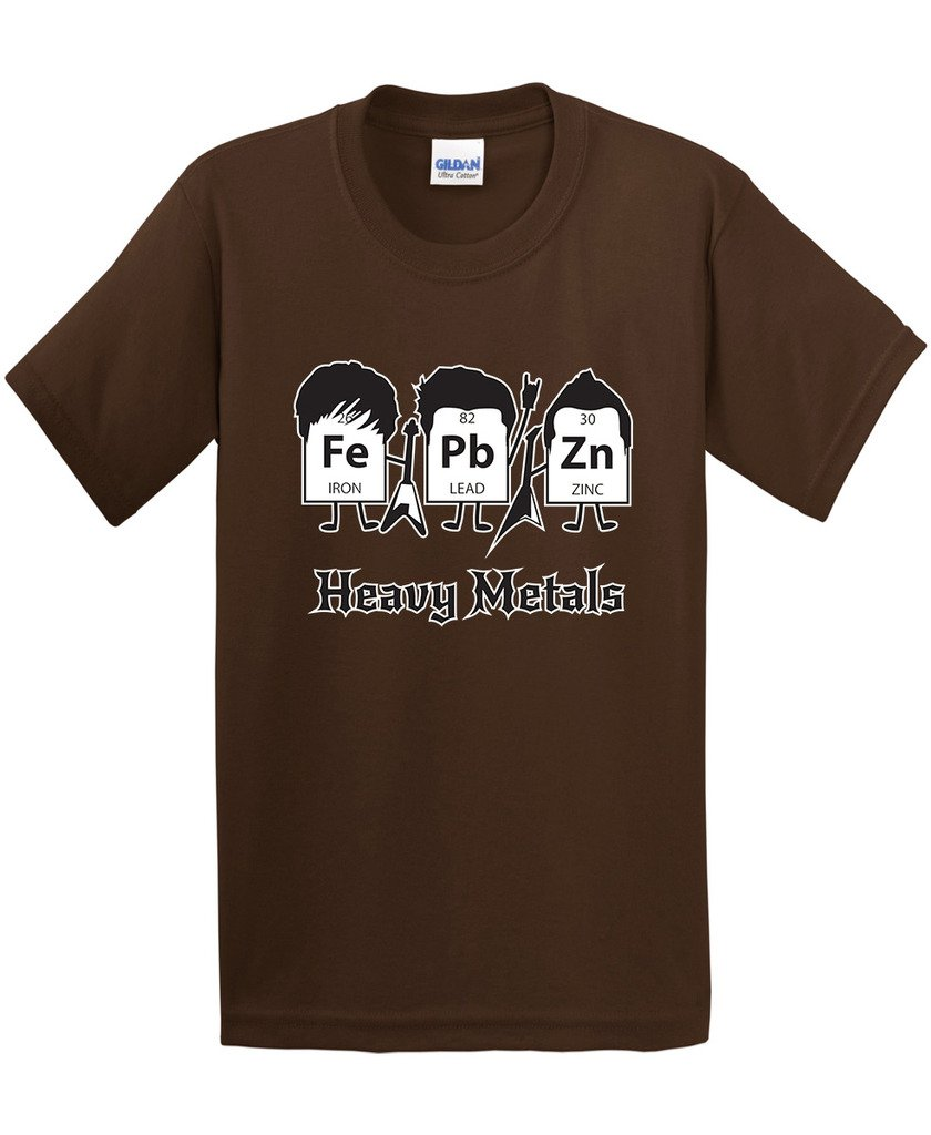 Amazon.com: Heavy Metals Periodic Table Science Graphic Band Music ...