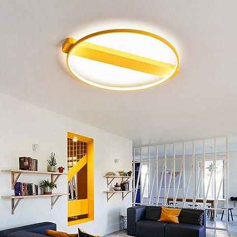 Lámparas de techo LED modernas para el hogar Macaron ...