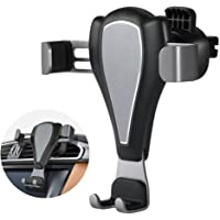 Car Mount Taymanso Universal Swive Car Air Vent Phone Mount Holder Cradle w/ Gravity Self-Locking One-Touch Design