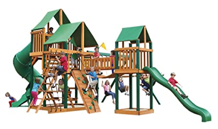 Amazon Com Gorillaplay Sets Home Backyard Playground Treasure Trove