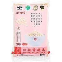 SongHe Jasmine Brown Rice, 1kg (Vacuum Packed)