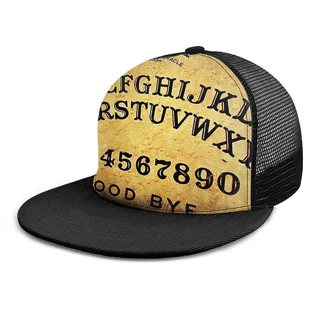 Gorra de béisbol Vintage Retro Ouija Boards diseño Unisex 3D Hip ...