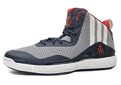 bad99eed074a adidas J wall mens hi top basketball trainers C76581 sneakers shoes (uk 10  us 10.5
