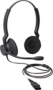 Jabra BIZ 2325 QD DUO Wired Professional Headset