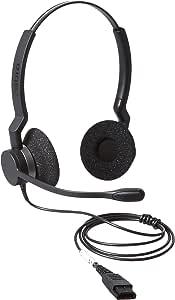 Jabra BIZ 2325 QD DUO Wired Professional Headset
