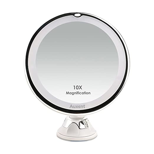 Best Lighted Makeup Mirror 10x Magnifying