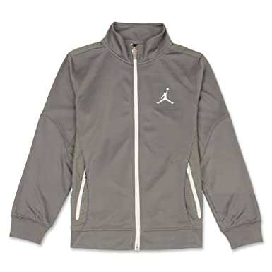 9923b596766b5e Amazon.com  Jordan Nike Jumpman Boys  Tricot Zip Track Jacket (Cool ...