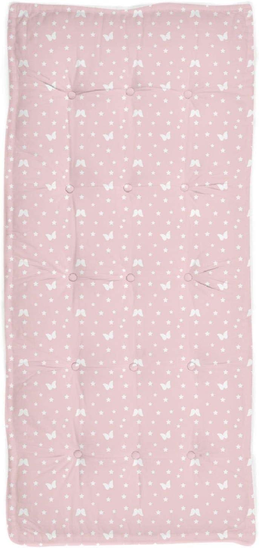 iDiffusion color rosa Coj/ín de suelo infantil 120 x 60 cm