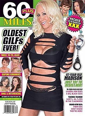 Spring 2018 60 Plus Milfs Magazine #330 Dvd Bonus Pack