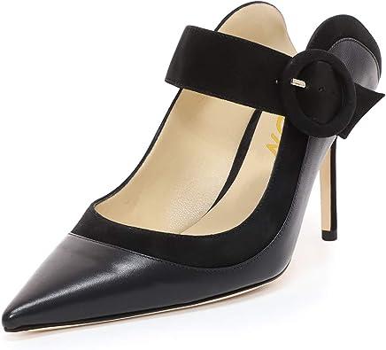 YDN Women Thin High Heels Mary Jane