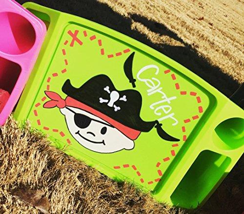 Personalized Lap Tray-Pirate