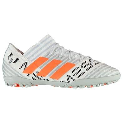 1044260e9a82 Adidas Nemeziz Messi 17.3 Astro Turf Football Trainers Mens White Soccer  Shoes  Amazon.co.uk  Shoes   Bags