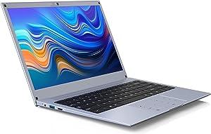 Laptop Computer Notebook 14-Inch Windows-10 – WINNOVO WinBook N140 6GB RAM 64GB ROM Intel Celeron Processor HD IPS Display Numeric Touchpad 5G WiFi HDMI (Space Grey)