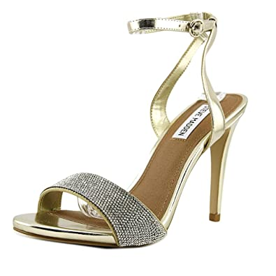 075113bc759f Steve Madden Ritter Women US 9 Gold Sandals  Amazon.co.uk  Shoes   Bags