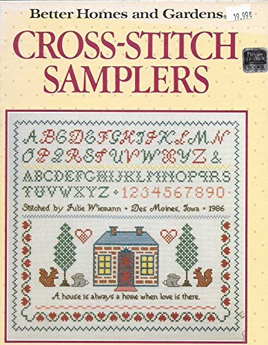 (BETTER HOMES & GARDENS CROSS STITCH SAMPLER BOOK)