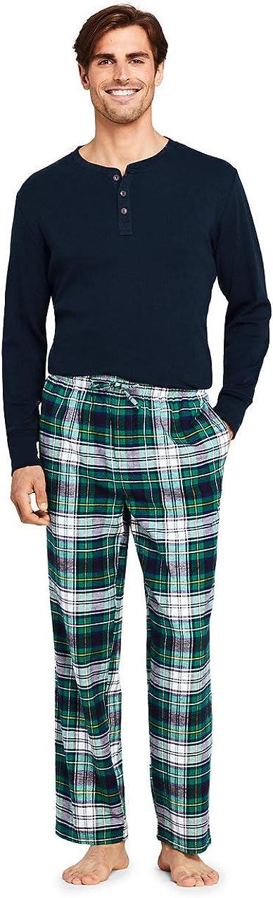 Lands End Mens Flannel Pajama Pants