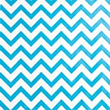 "Novel Box� Blue Chevron Print Paper Gift Merchandising Bag Bundle 6X9"" (100 Count) + Custom NB Pouch"