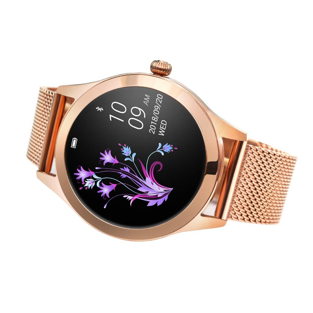 LUXISDE Fitness Bracelet Smartwatch Ladies, Activity Indicator KW10 Smart Watch IP68 Waterproof Wristband for Heart Rate Measurement Fitness by LUXISDE (Image #4)